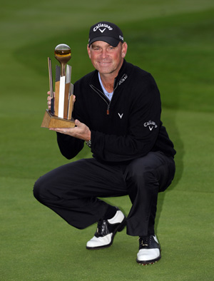 ECCO Staff Player Thomas Bjorn Wins Johnnie Walker Championship at Gleneagles